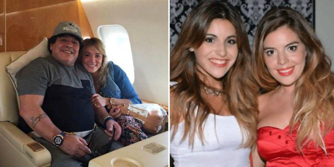 Rocío Oliva se metió en la pelea entre Maradona y sus hijas