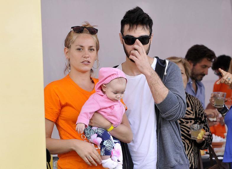 Rocio Igarzabal mostró la cara de su hija.