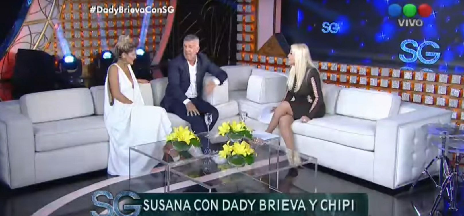 Dady Brieva en lo de Susana