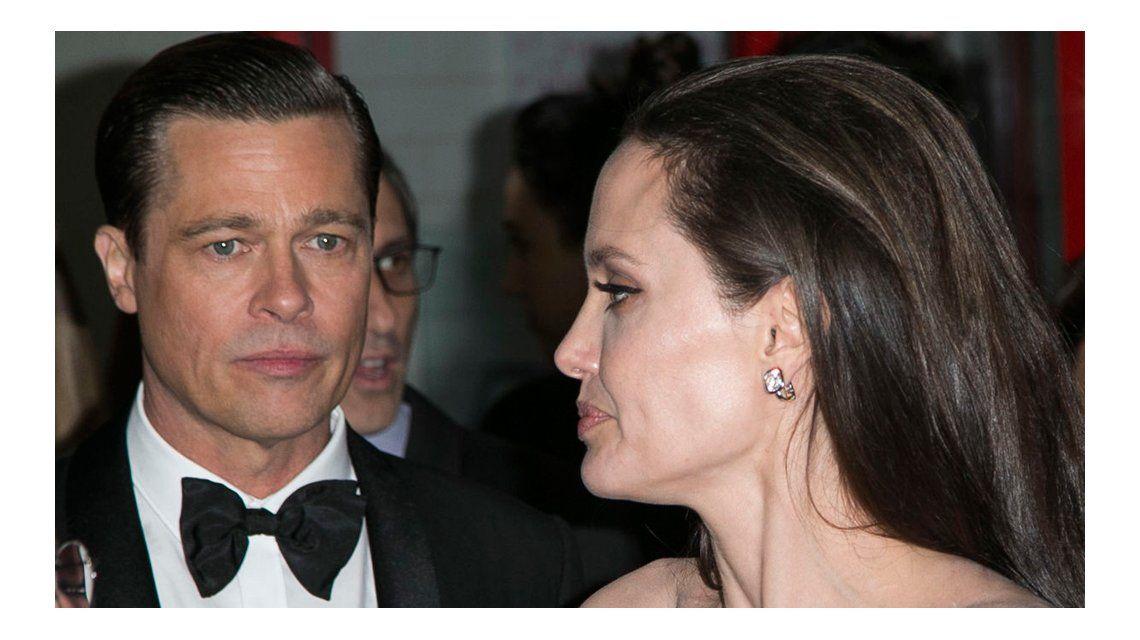 Angelina le pidió el divorcio a Brad el 19 de septiembre
