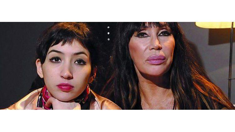 Moria Casán y Sofía Gala.