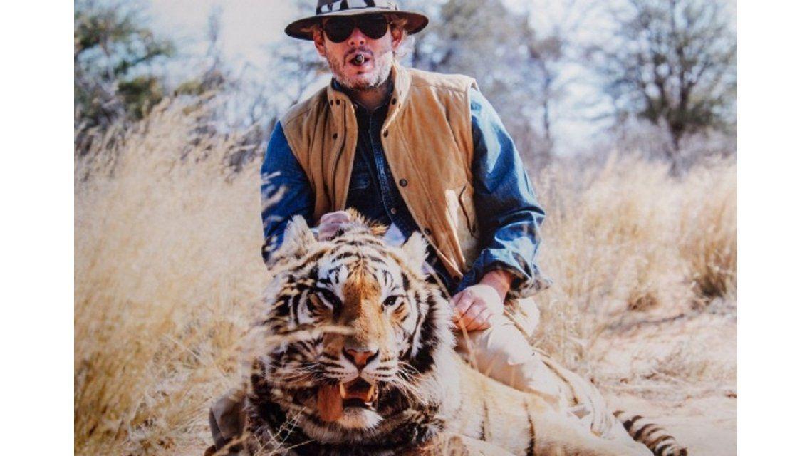 La respuesta de Matías Garfunkel tras las polémicas fotos cazando animales con VictoriaVannucci