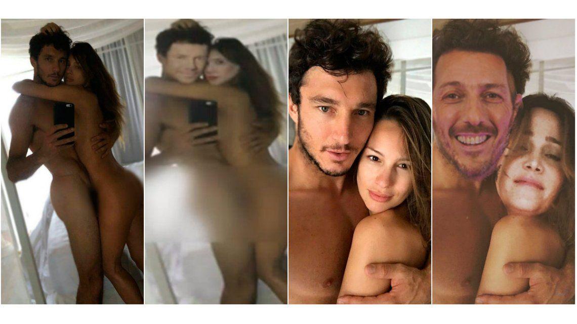 Pampita confirmó que las fotos eran truchas
