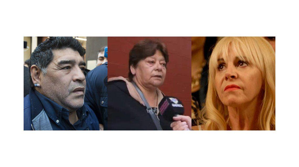 La hermana de Diego Maradona habló por primera vez.