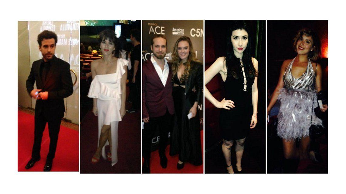 Los looks de los famosos en los ACE 2016.