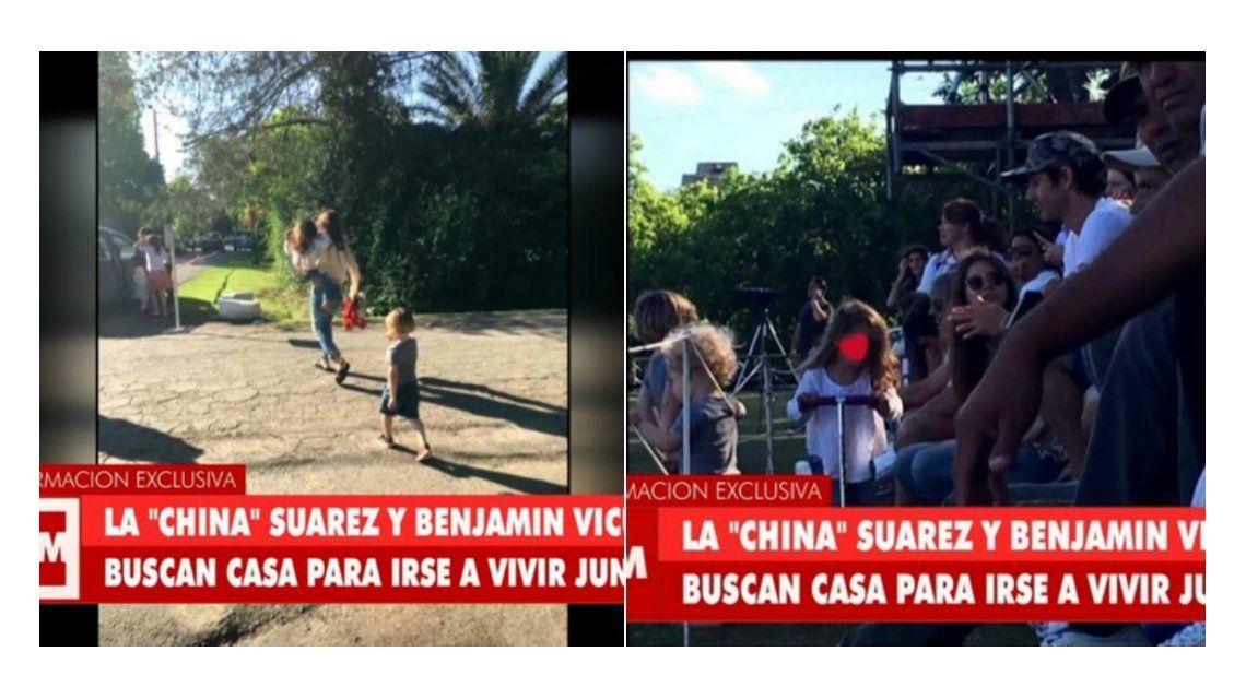 Los hijos de Pampita y Vicuña pasaron el día de la madre con la China Suárez.