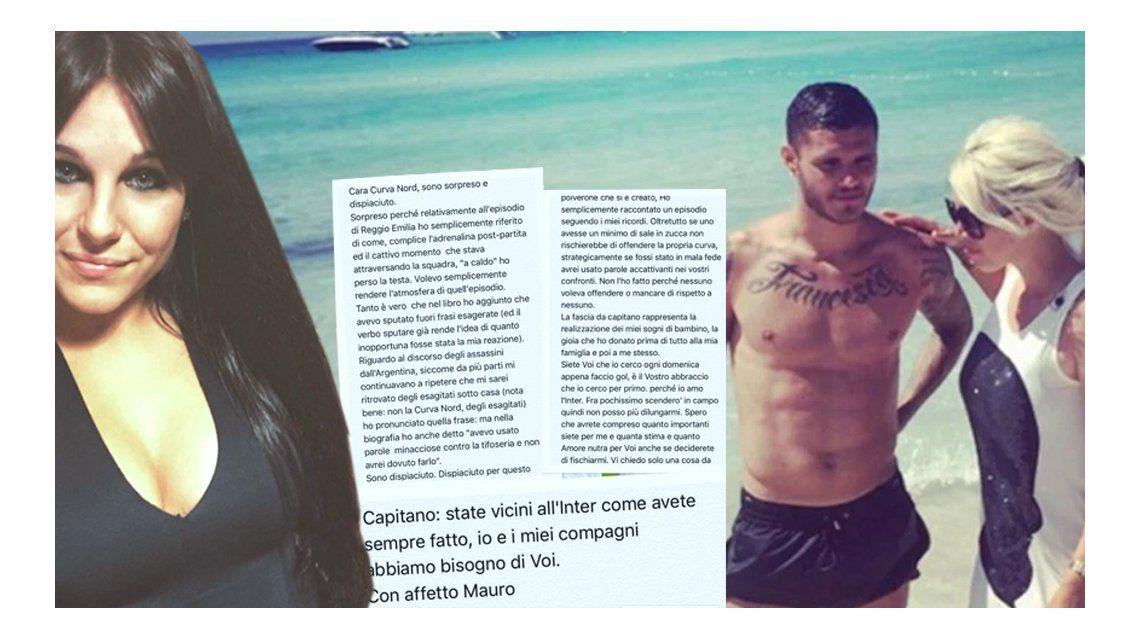 Ivana Icardi, contra los hinchas del Inter, la Selección y la Icardiada: Mauro tiene códigos y se enamoró de Wanda