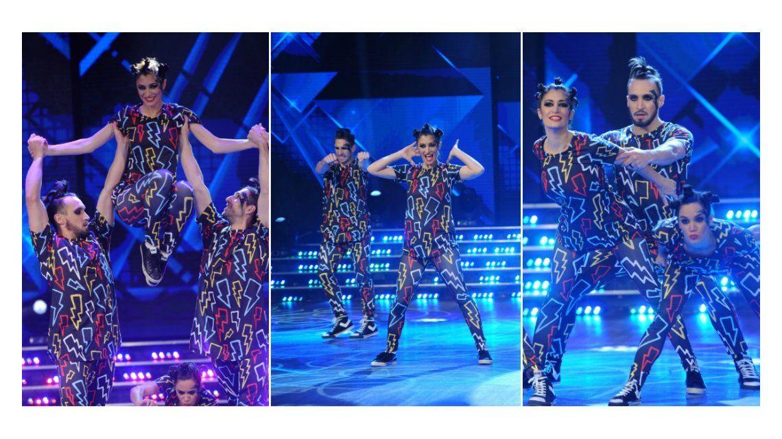 La danza de precisión de Carla Conte en el Bailando 2016.
