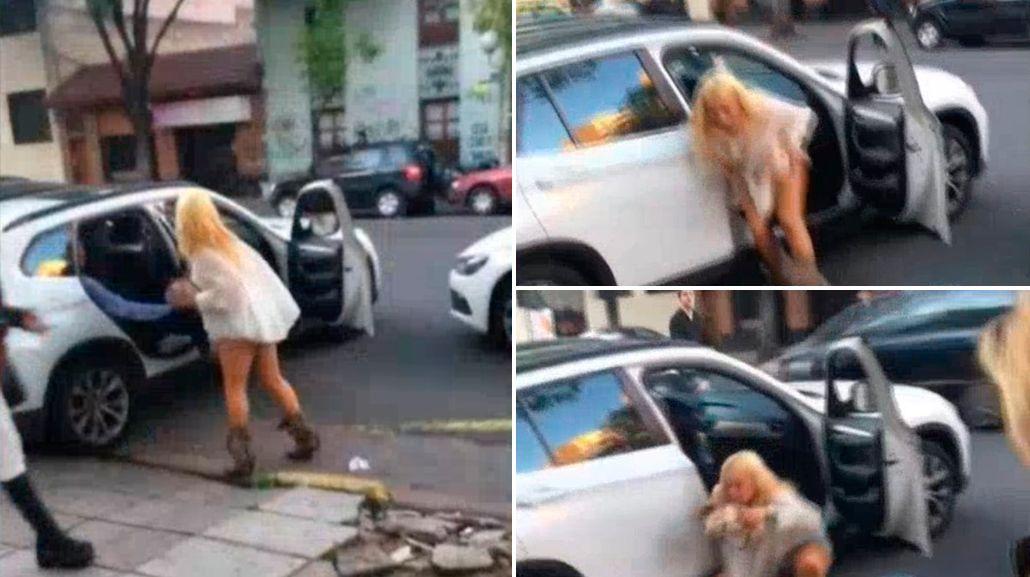 El escandaloso video callejero de María Eugenia Ritó: Mañana me van a ver muerta