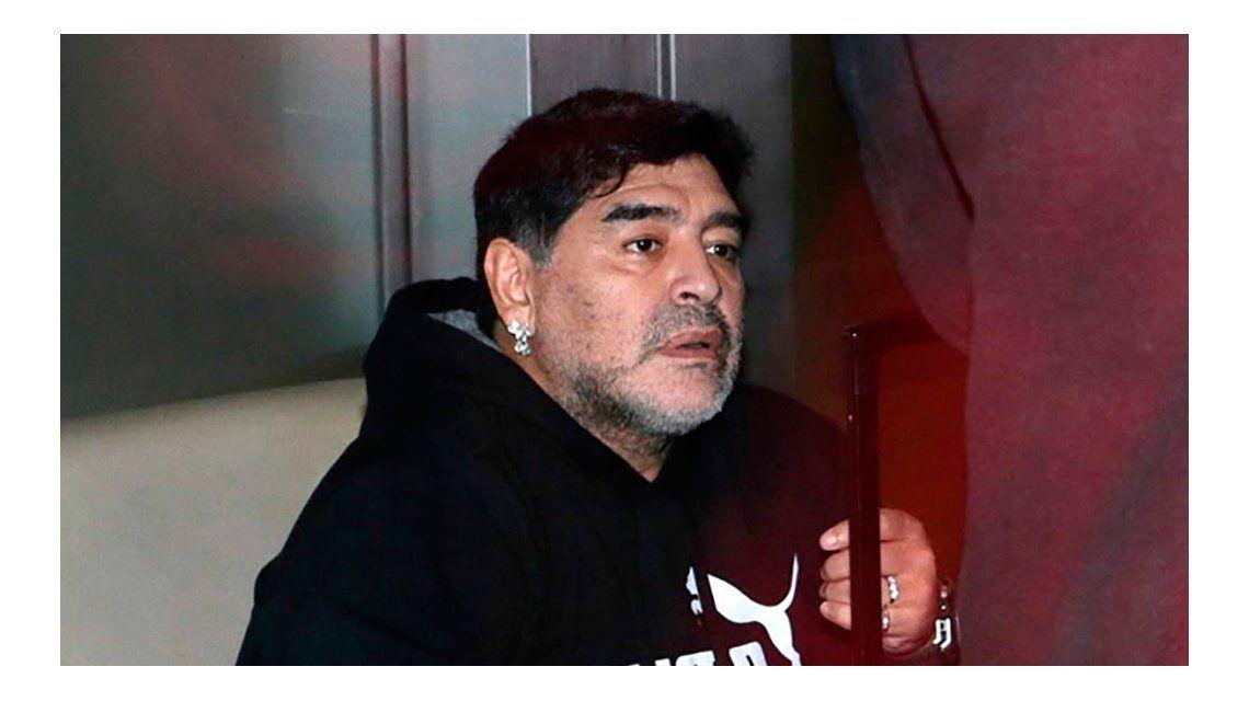 Diego Maradona volvería a Estados Unidos.