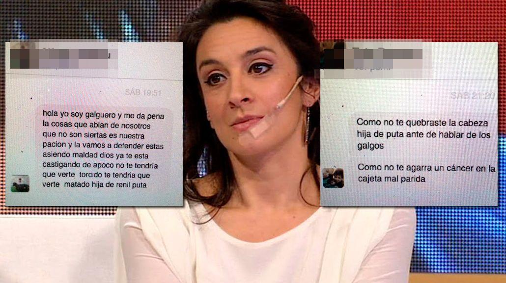 Las amenazas a Anita Martínez.