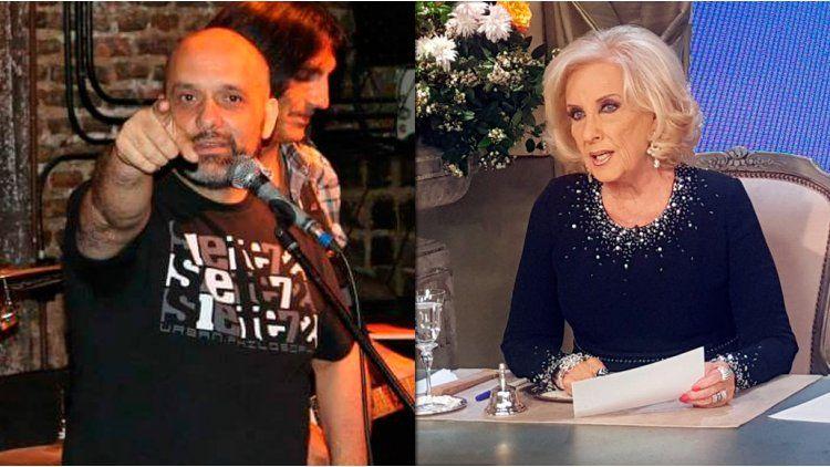 El papá de Ángela Torres contra Mirtha.