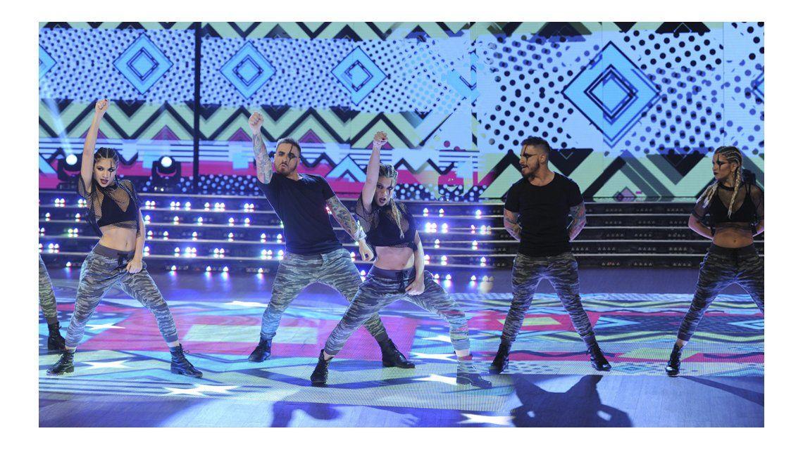 La increíble coreo de Fede y Laurita en el nuevo ritmo del Bailando