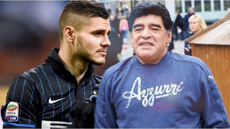 Maradona volvió a criticar a Icardi