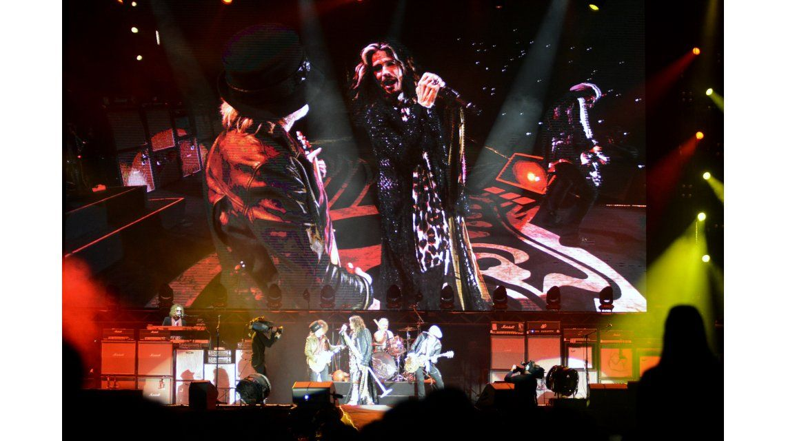 Aerosmith hizo vibrar La Plata y los famosos dieron presente