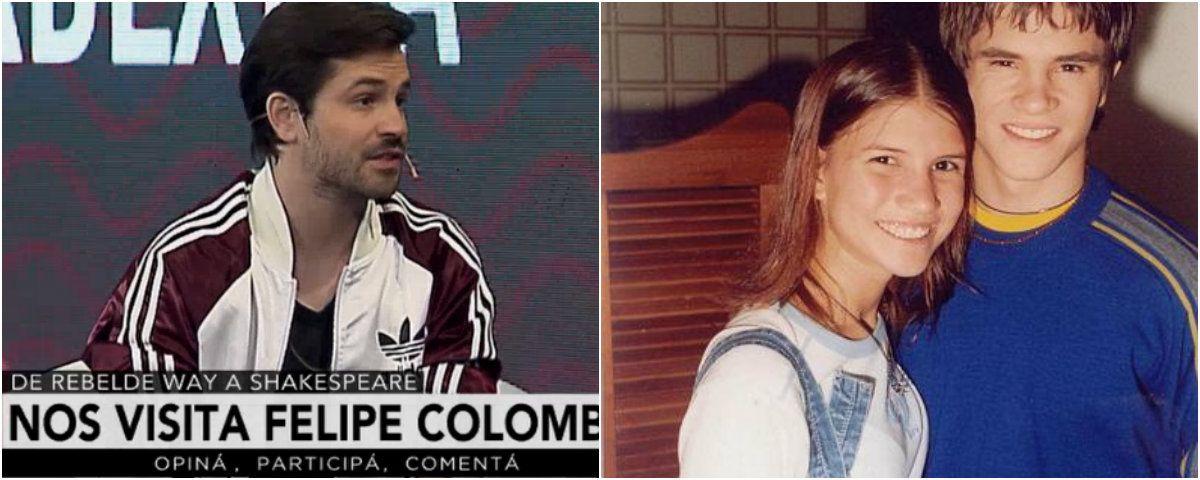 Felipe y Camila fueron pareja en la ficción