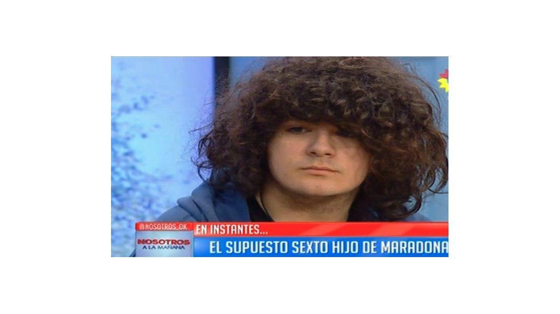 El supuesto sexto hijo de Diego Maradona