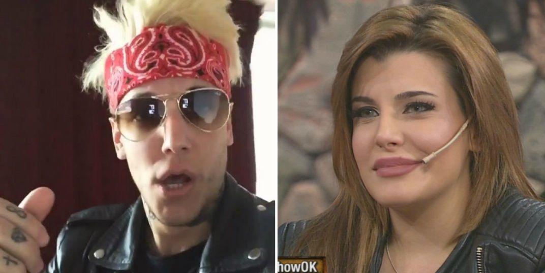 El alocado festejo de Alex Caniggia por la aparición de Charlotte: La Sis in the TV