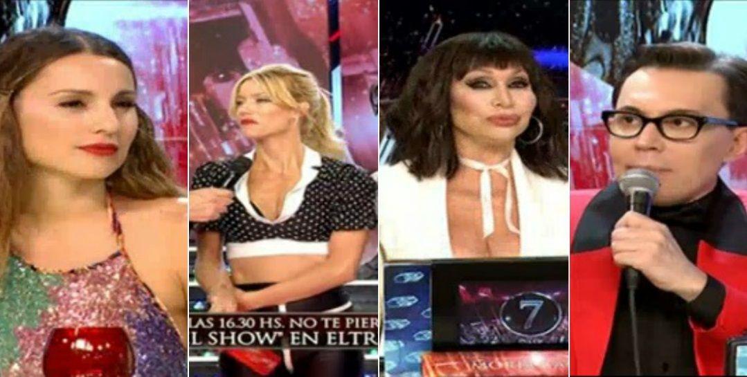 Jurado Bailando 2016 vs Pampita.