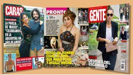 Las fotos de Suar, soltero en Miami; y Charlotte Caniggia busca hombres con plata