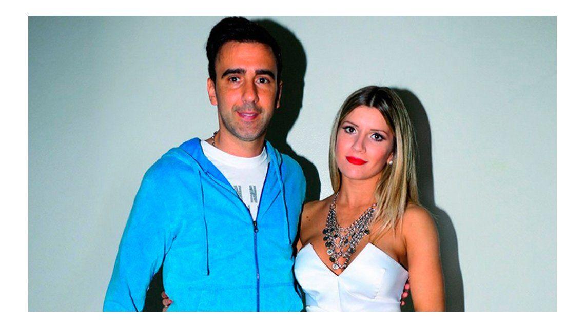 Laurita Fernández y Fede Hoppe se encontraron