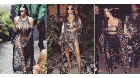 Los looks de Kim Kardashian en París.