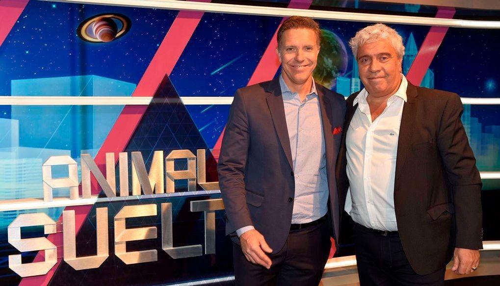 VIDEO: Una inglesa irrumpió el programa de Fantino y Tevez hizo de traductor
