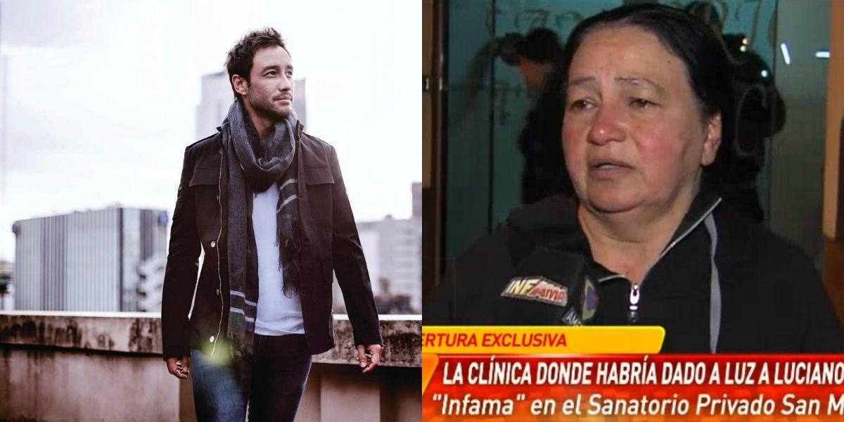 La supuesta madre de Luciano Pereyra visitó la clínica donde lo habría dado a luz