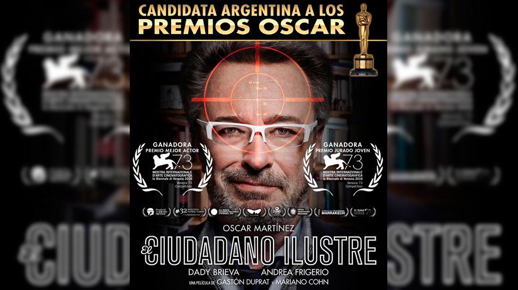 El ciudadano ilustre representará a la Argentina en los Oscar 2017