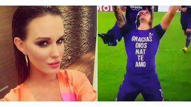 Con lágrimas, Zárate le dedicó dos goles a su mujer: emotivo mensaje en su camiseta