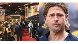 Brad Pitt, ausente en la premiere de su nueva película: Estoy centrado...