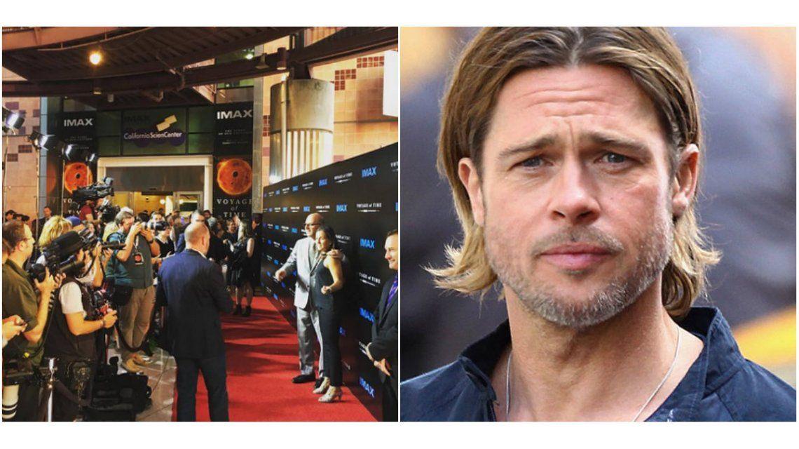 Brad Pitt no fue al estreno de su nueva película: Estoy centrado en mi situación familiar