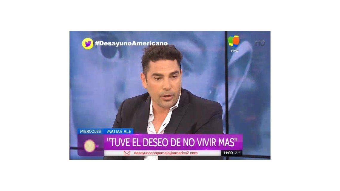 Matías Alé contó que en la clinica Avril se casó por segunda vez: Le ofrecí matrimonio a una loca