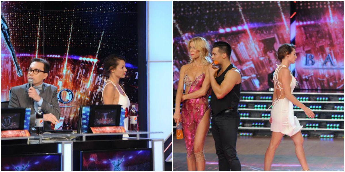 Pampita discutió con Marcelo Polino y abandonó el estudio en vivo