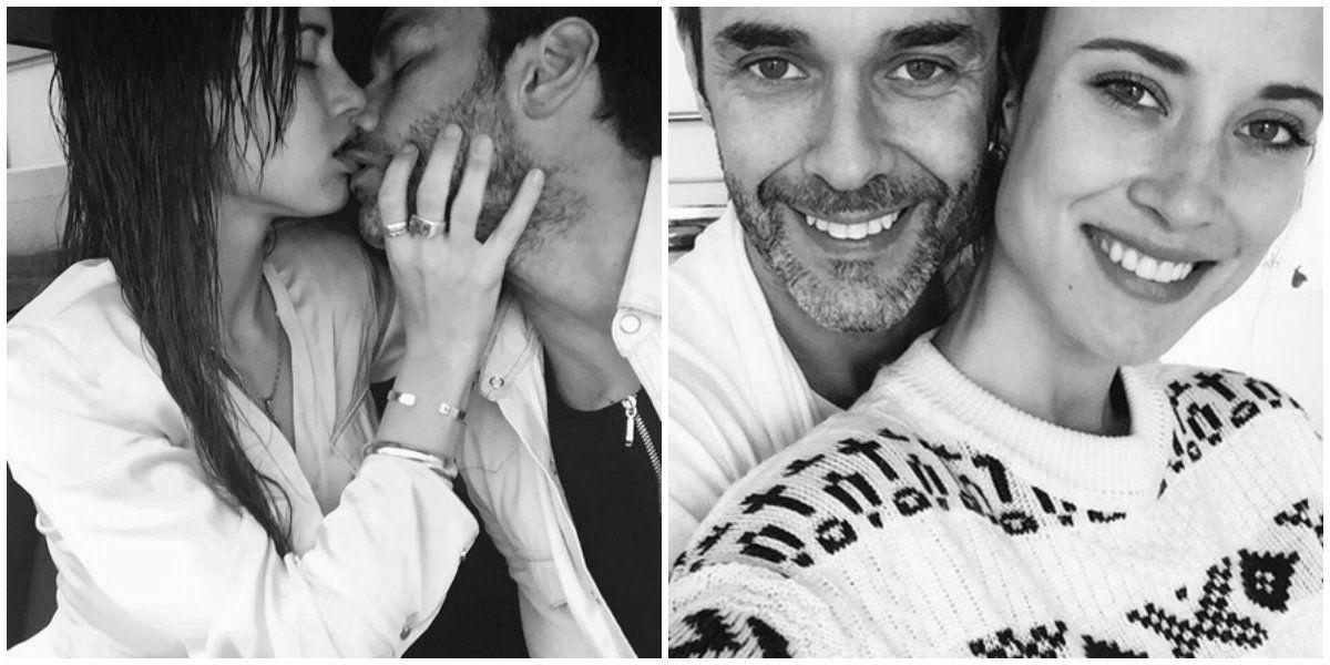 A dos meses de blanquear el romance, Mariano Martínez se muestra profundamente enamorado: Me hacés muy feliz, mi amor
