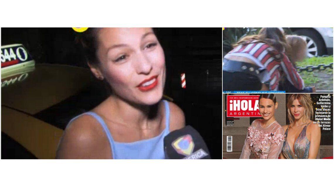 Pampita le ganó una portada a Isabel Macedo y habló del video de la China Suárez con sus hijos: Lo único que quieren es amor