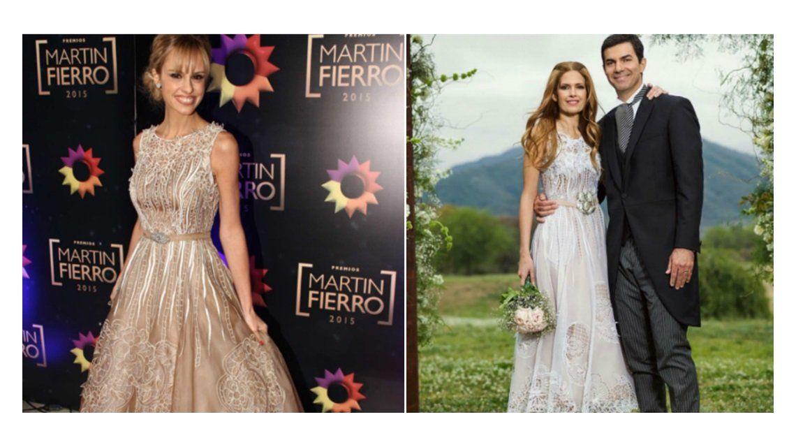Habló el diseñador de la polémica: ¿por qué el vestido de Isabel Macedo era parecido al de Mariana Fabbiani?