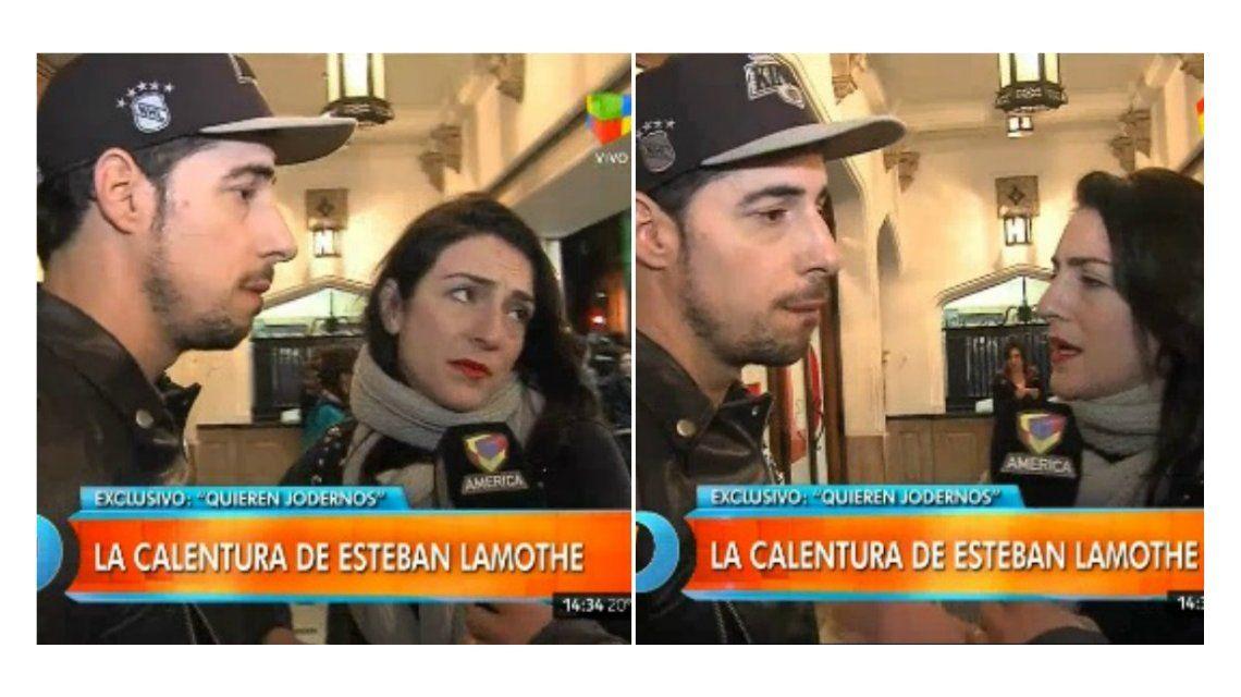 Esteban Lamothe y Julieta Zylberberg: Hay alguien que quiere jodernos, estamos como el o...