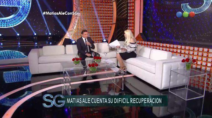 Se lo confesó a Susana Giménez: la banda de sonido de Rocky le salvó la vida a Matías Alé