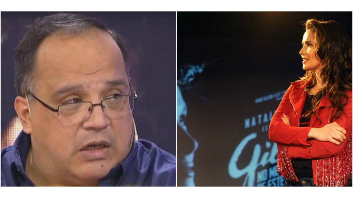 Oreiro habló sobre las críticas que el ex representante de Gilda hizo sobre la película
