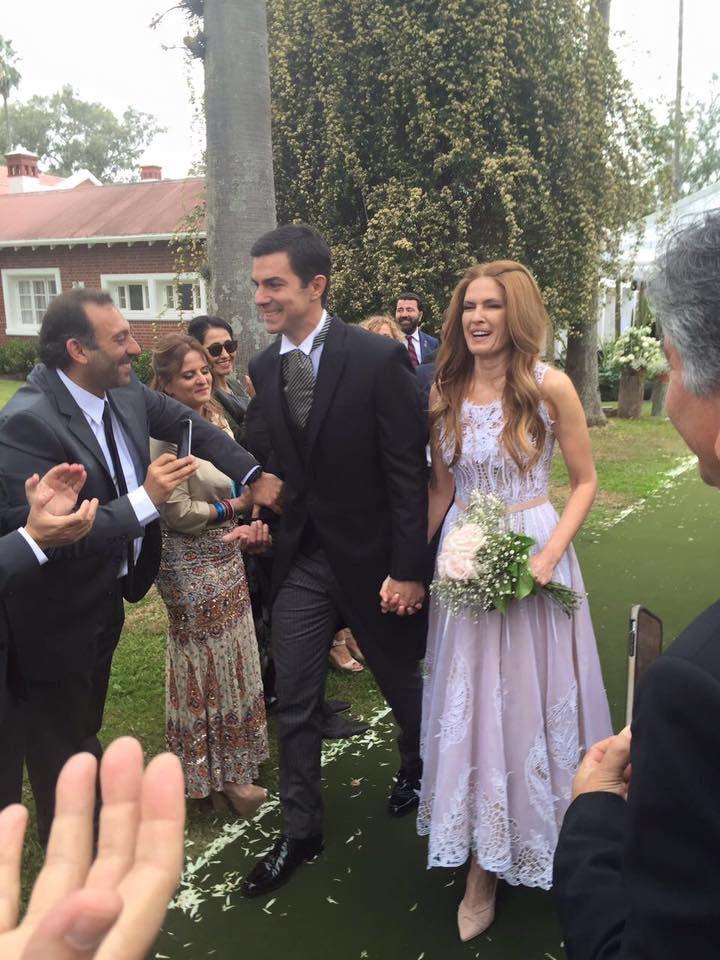 Mirá el look de Isabel Macedo en su casamiento con Juan Manuel Urtubey