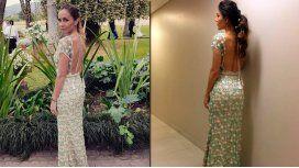La perlita de Gisela Dulko: usó el mismo vestido que Barón en la gala de Gente