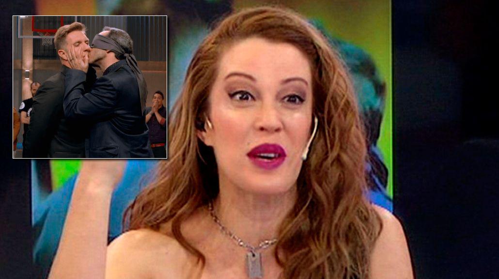 No estoy enamorada, dijo Miriam Lanzoni y criticó a Alejandro Fantino por su beso con un hombre