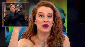 No estoy enamorada, dijo Lanzoni y criticó a Fantino por su beso con un hombre