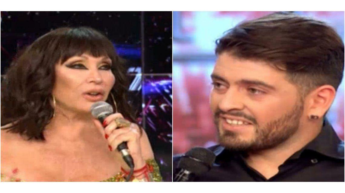 Moria, a Diego Junior: Yo antes no te bancaba porque no digo que eras un farsante, pero no me gustaba que mendigabas amor