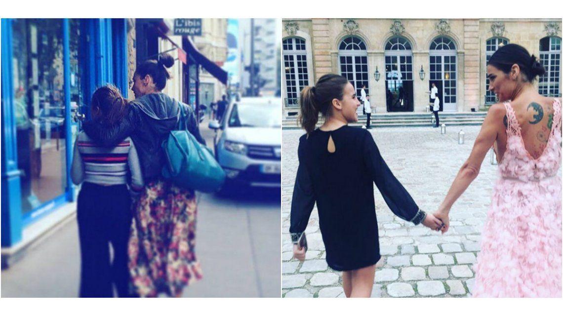 Juana Viale, inseparable de su hija Ambar: fiesta de gala en París y emotivo texto en Instagram
