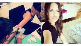 Significativo tatuaje de Natalie Weber tras su lucha contra el cáncer