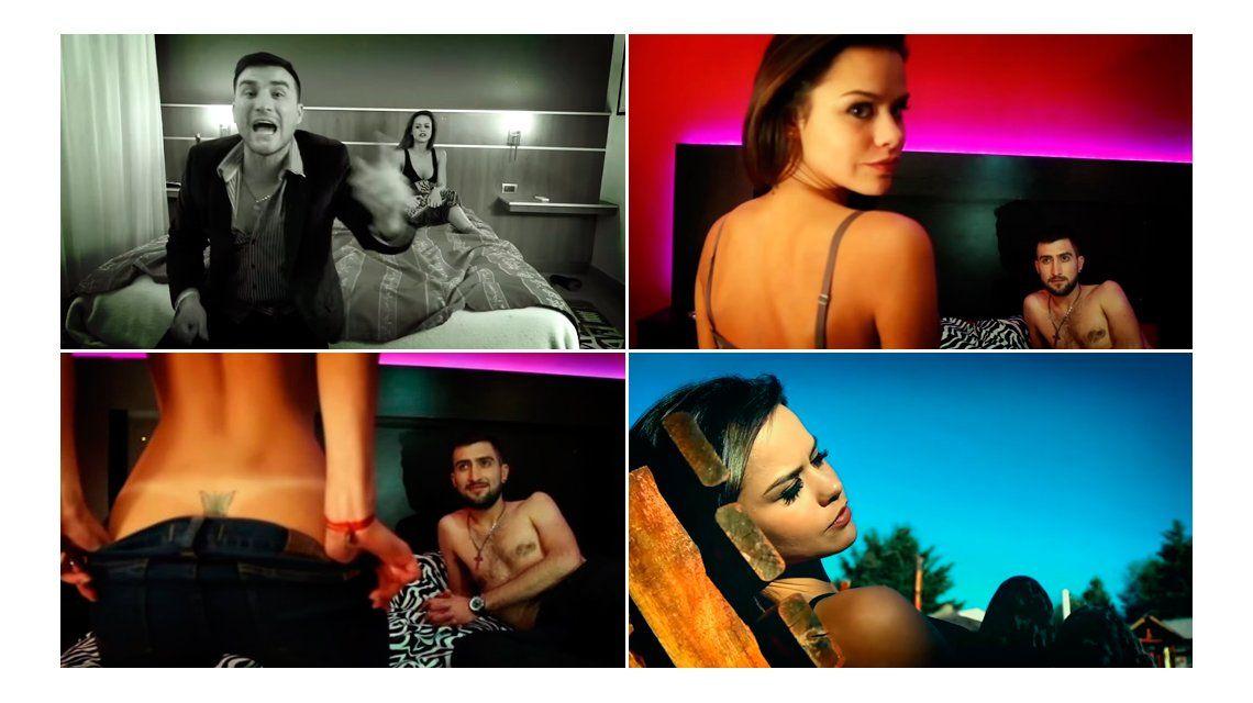 María del Mar jugó a ser amante y se desnudó en un clip