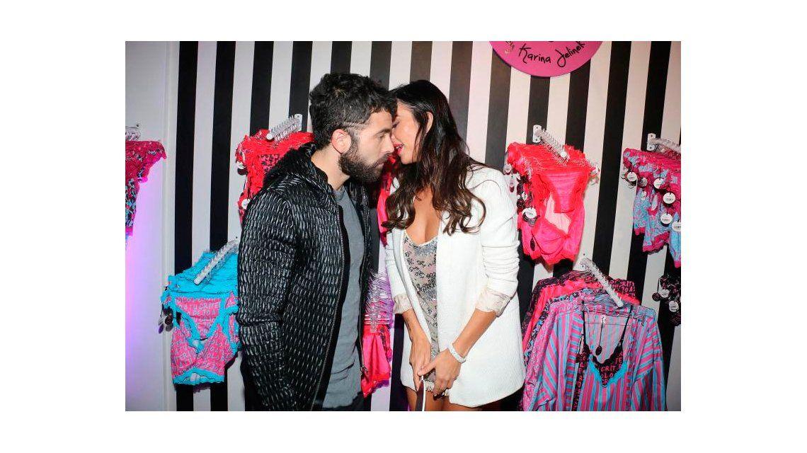 ¿Romance en puerta? Nazareno Casero y Karina Jelinek, muy acaramelados
