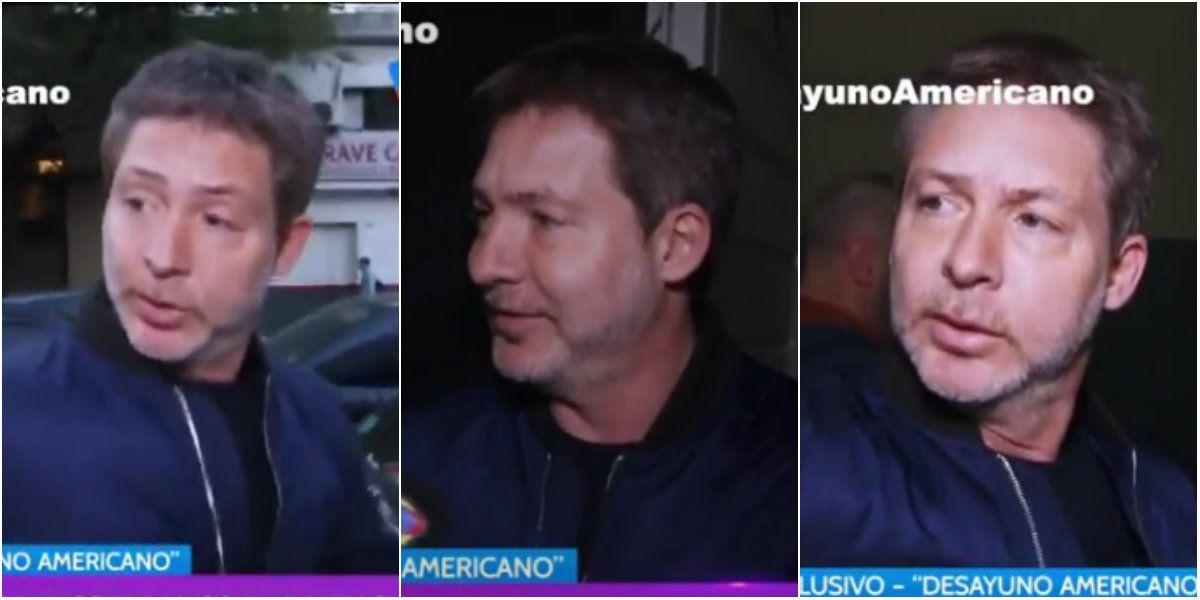 La reacción de Adrián Suar ¡a lo Juana Viale! cuando le preguntaron por la separación de Griselda Siciliani: mirá qué le decía al notero